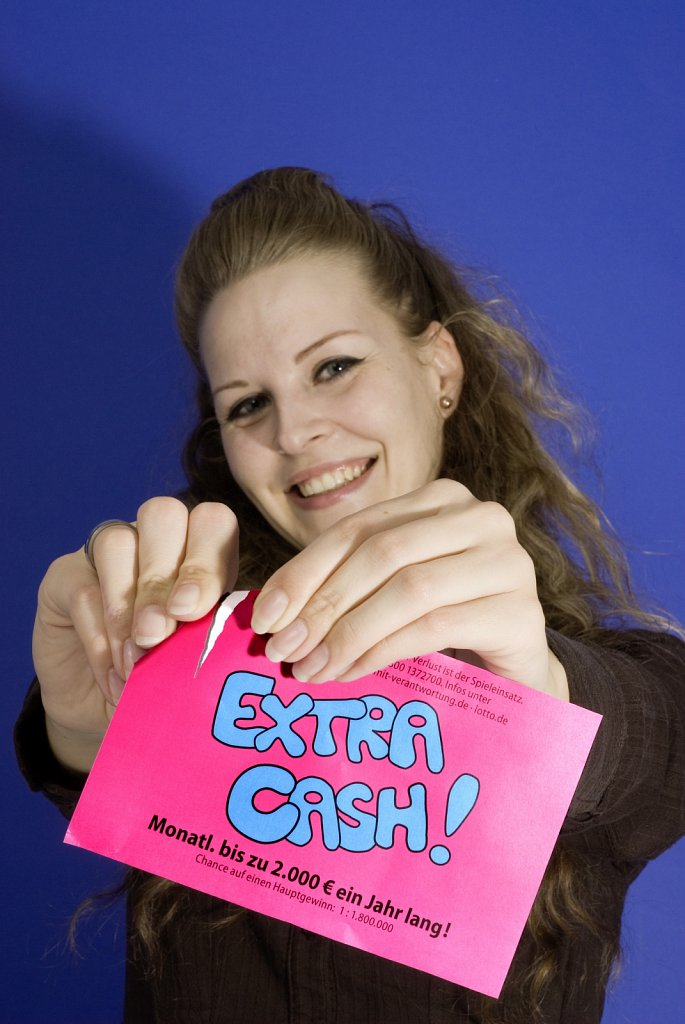 "LOTTO ""Extra Cash!"" / Photoshooting / 2009."